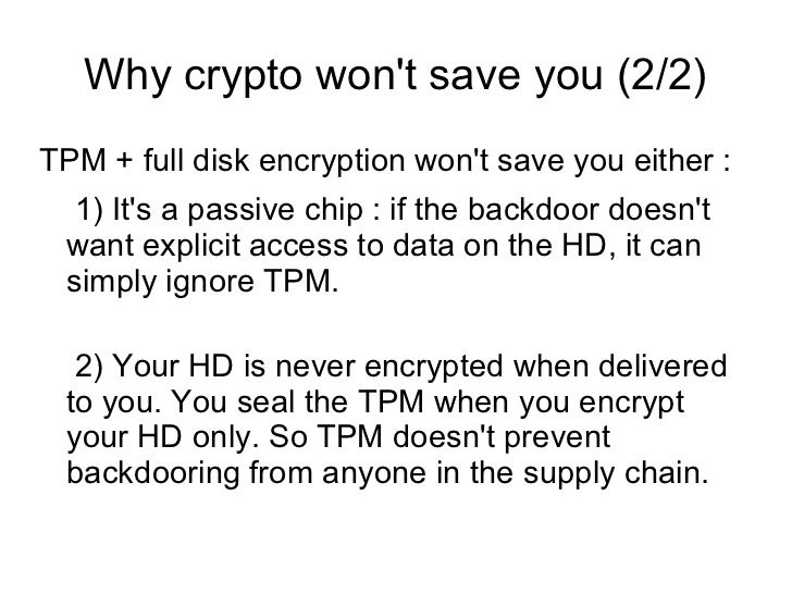 How about Avs ??    Putting an AV on a server to protect against    unknown threats is purely cosmetic.    You may as we...