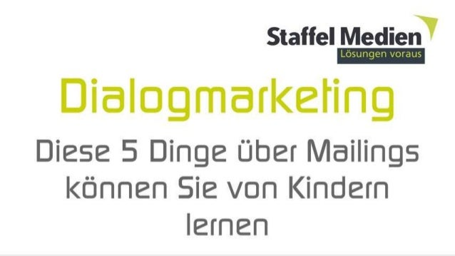 Dialog Marketing ins ❤ Ihrer Kunden.