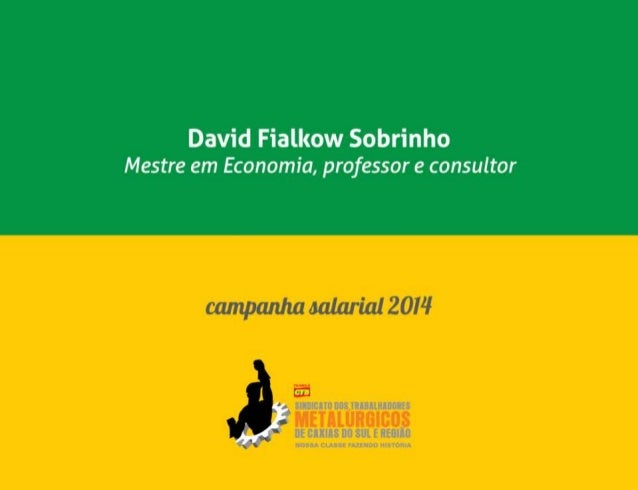 Metalúrgicos Caxias - Campanha Salarial 2014 - Slide