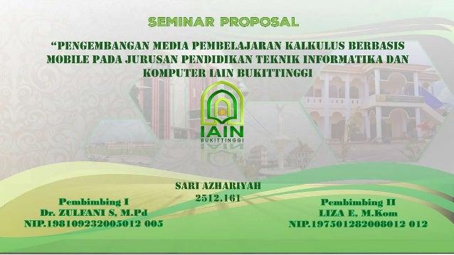 Slide Seminar Proposal Skripsi
