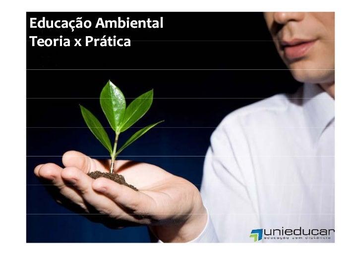 Curso online Educação Ambiental Teoria e Prática