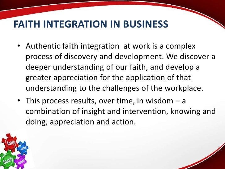 busi 530 faith integration