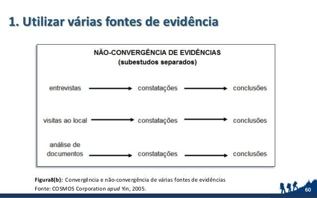 1. Utilizar várias fontes de evidência Figura8(b): Convergência e não-convergência de várias fontes de evidências Fonte: C...