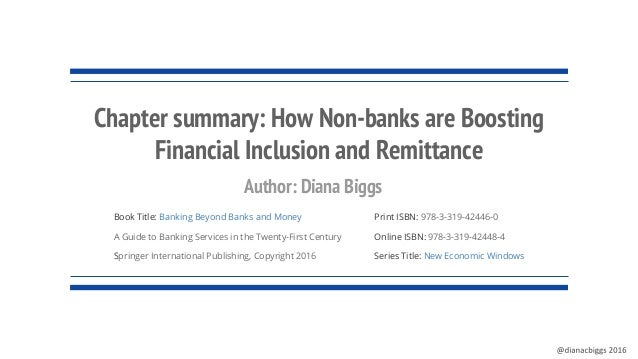 Book Title: Banking Beyond Banks and Money A Guide to Banking Services in the Twenty-First Century Springer International ...