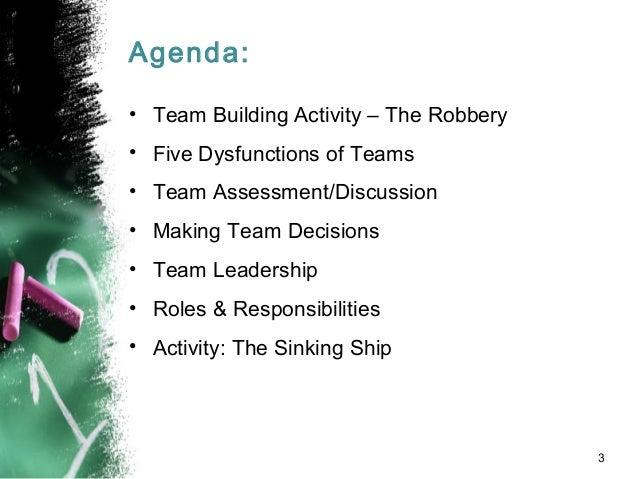 Team Building: Creating Effective Teams