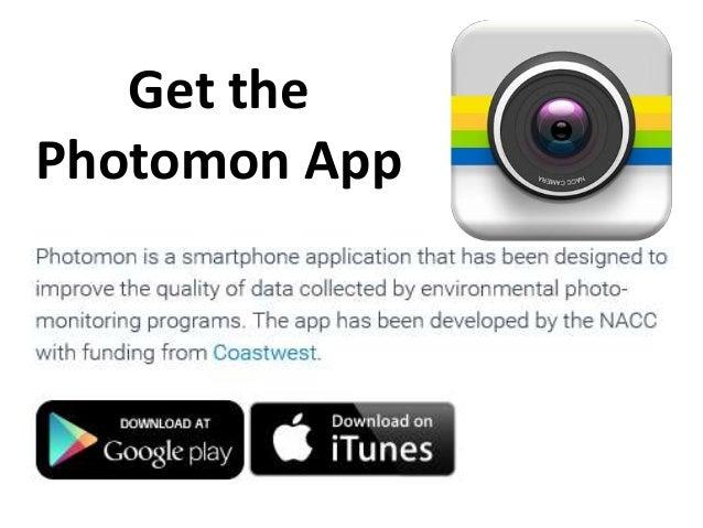Get the Photomon App