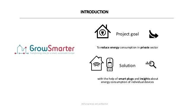 GrowSmarter Webinar : Generating Insights from Energy Household by AGT  Slide 3
