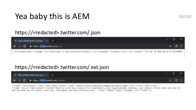 Hunting for security bugs in AEM webapps