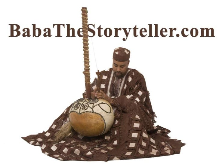 Baba the Storyteller has been contracted as a consultant, performed and/or lectured for such prestigious institutions as: ...