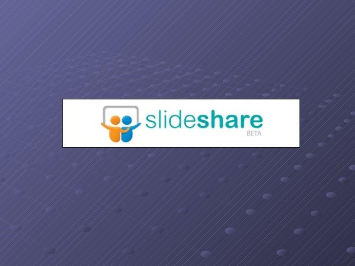 O SlideShare é um serviço que permite enviar apresentações em PowerPoint ou Open Office e para que possa partilhar online,...