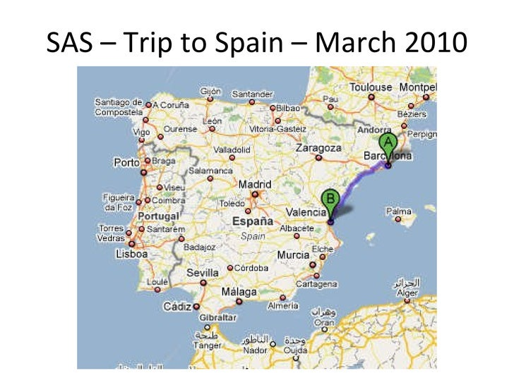 SAS – Trip to Spain – March 2010