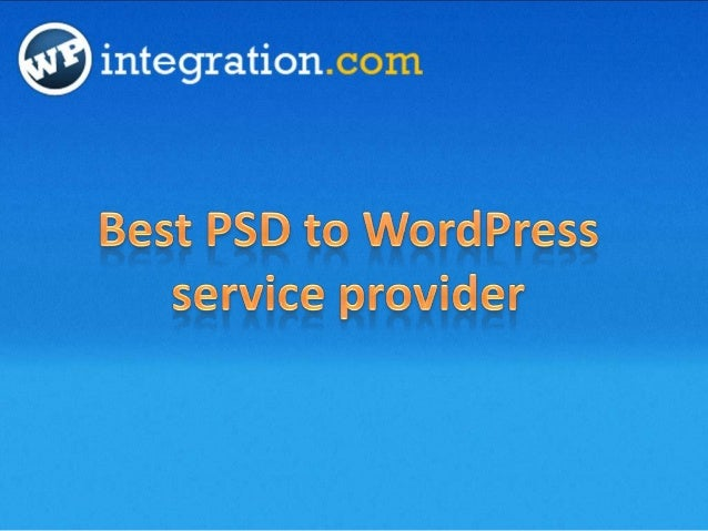 We convert your PSD design into cross-browser compatible,fast loading, search engine friendly, and W3C validated