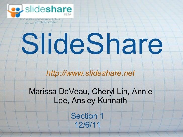 http://www.flickr.com/photos/dantaylor/2628  81868/sizes/              o/in/photostream/SlideShare                        ...