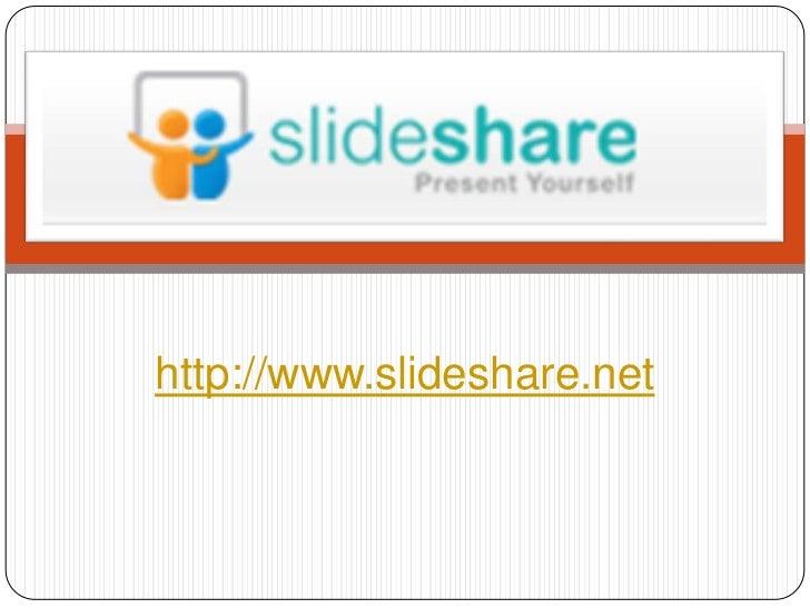http://www.slideshare.net