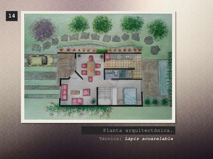 T nicas de representaci n for Tecnicas de representacion arquitectonica pdf