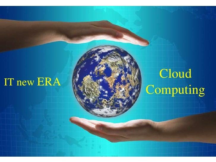 Graphic                         CloudIT new ERA                       Computing                1