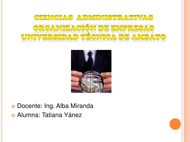  Docente: Ing. Alba Miranda Alumna: Tatiana Yánez