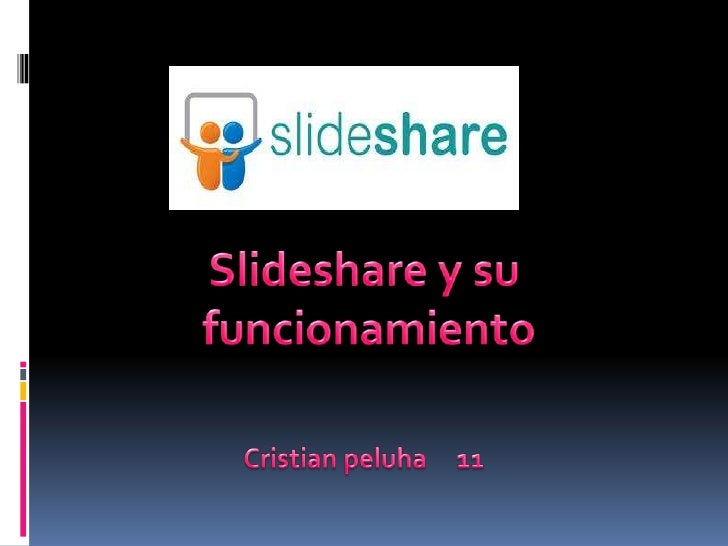 SlideShare es un sitio web que ofrece a losusuarios la posibilidad de subir y compartir enpúblico o en privado presentacio...