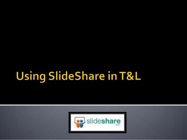    SlideShare is the worlds largest community    for sharing presentations.   Besides presentations, SlideShare also    ...
