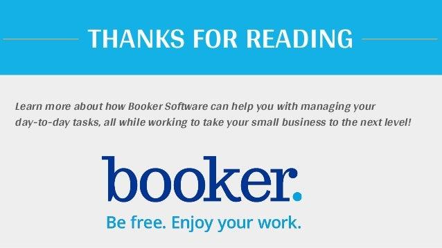 booker software
