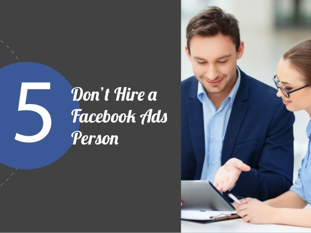 The biggest mistake in Facebook advertising is hiring a social consultant instead of a passionate, knowledgeable fan of yo...