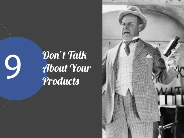 Instead of promoting product features, focus on the benefits your product has to offer.  Isabelle Mathieu   Social Media ...