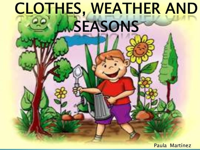 clothes weather and seasons