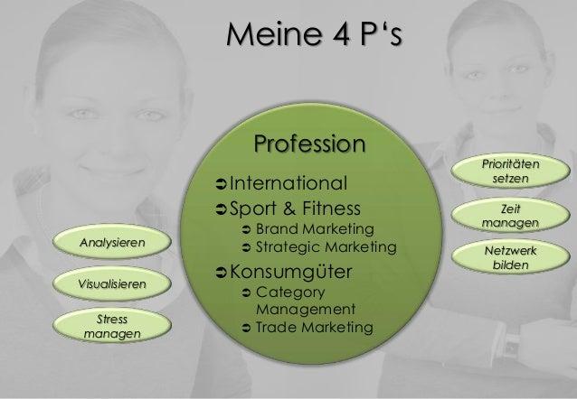 Meine 4 P'sProfessionInternationalSport & Fitness Brand Marketing Strategic MarketingKonsumgüter CategoryManagement...