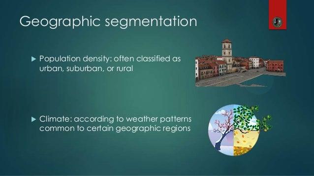 sony geographic segmentation