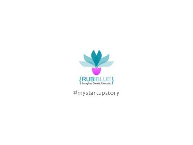 #mystartupstory
