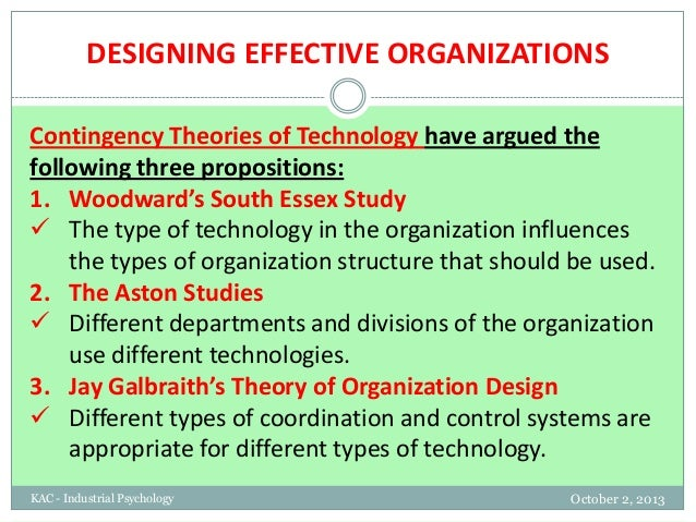 3 discuss the influence industrial organization psychology has had on organizations