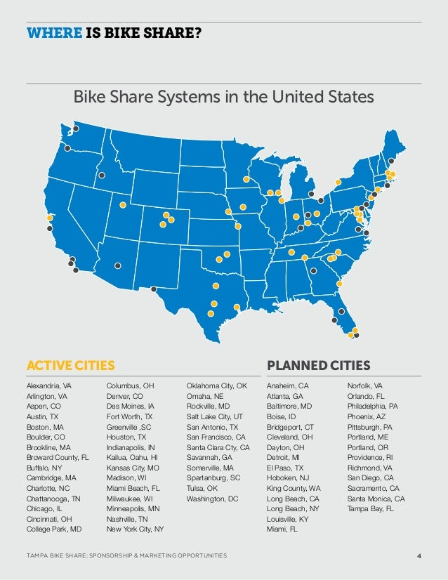 Coast Bike Share Sponsorship Opportunities
