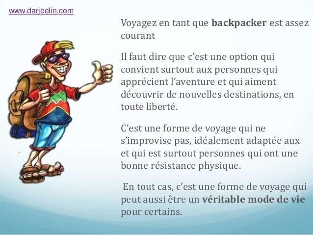 Bons plans pour Backpacker  Slide 3