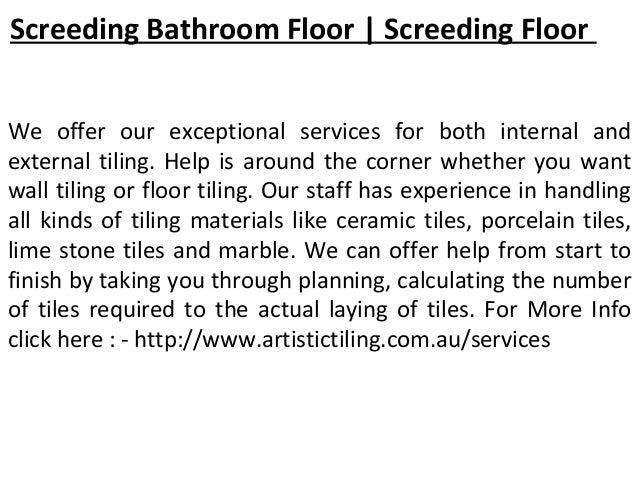 Tiling Melbourne | Bathroom Tiling | Bathroom Water ...