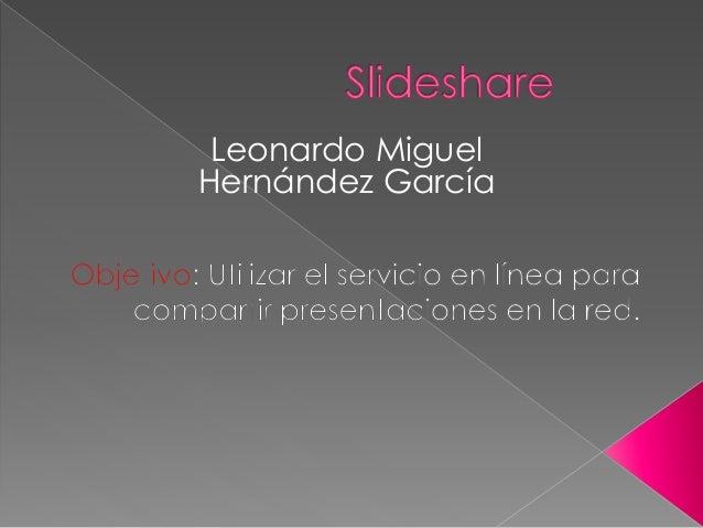 Leonardo Miguel Hernández García