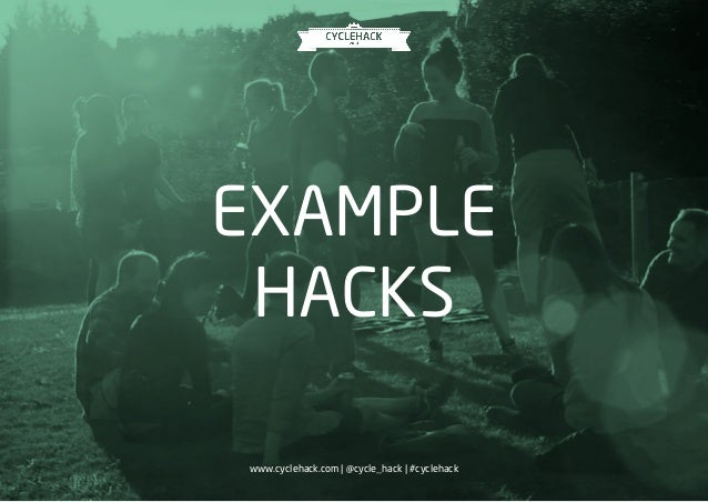 CycleHack Slide 3