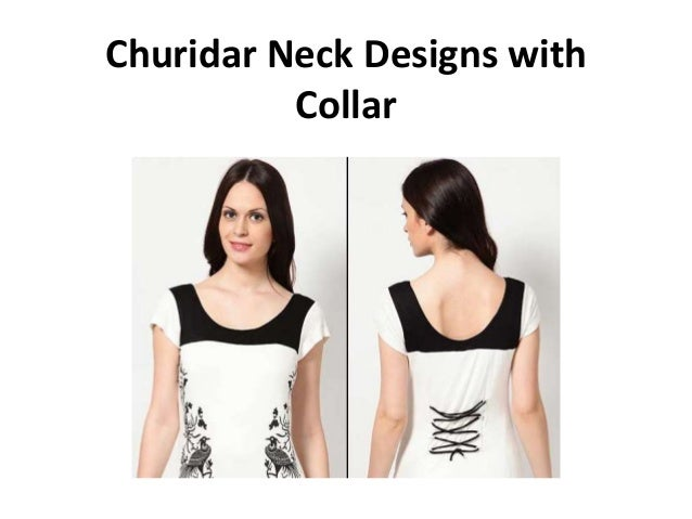 Churidar Neck Designs With Collar