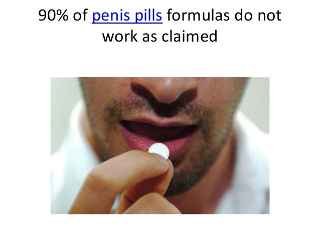 which penis pills work