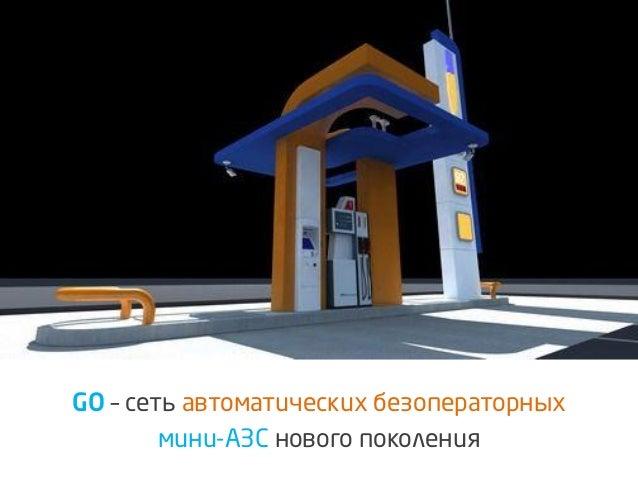GO–сеть автоматических безоператорных  мини-АЗСнового поколения