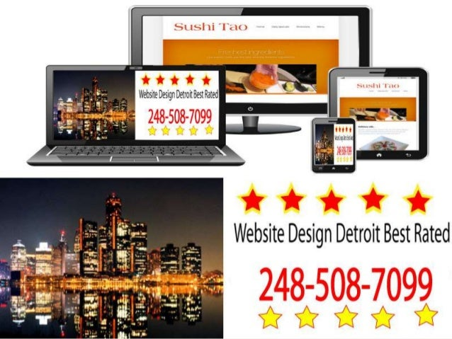 Website Design Detroit Best Rated 248-508-7099