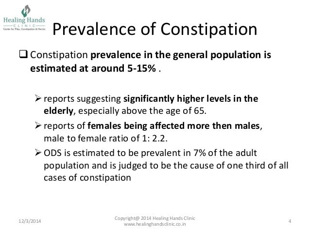 constipation in adults nice guidelines
