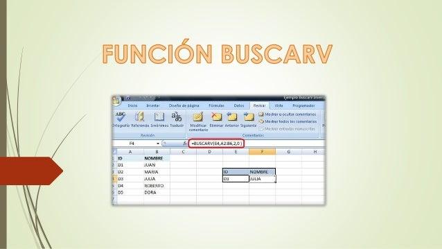 Buscarv Buscarv, es una de las funciones más útiles de Excel, y es también una de las menos comprendidas. La función BUSCA...