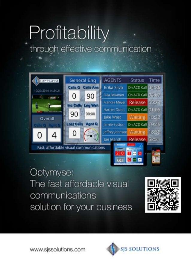 Profitability  ' through effective communication  zsjgfijzznn Cencixil Enq  '.  in . z. -:  'er . -  I x Fn'e. r: Sir-~. «n...