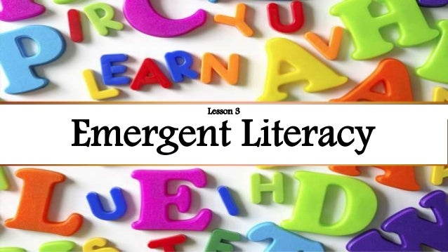 define emergent writing activities