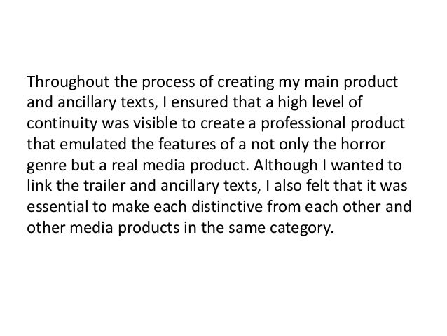 How effective is the combination of your main product and ancillary texts? Slide 2