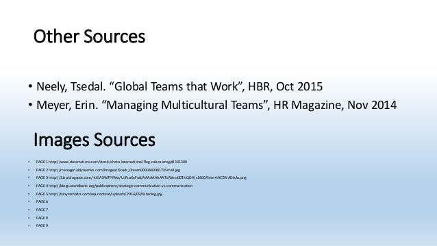 hbr managing multicultural teams Multicultural teams offer a number of advantages to international firms, including  deep knowledge of different product markets, culturally.