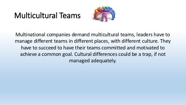 multicultural teams in the workplace