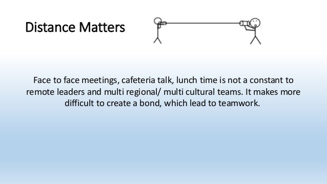 challenges in managing multicultural team One basic difference between global teams that work and those that the primary management challenge for the global team managing multicultural teams.