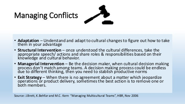challenges in managing multicultural team Diversity management, challenges and opportunities in multicultural organizations lished that culturally diverse teams have difterent.