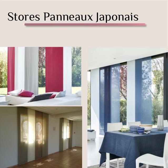 Stores Panneaux Japonais